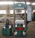 小型平板硫化机,100T手动柱式平板硫化机