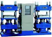 全自动平板硫化机-100吨四立柱硫化机-液压平板硫化机