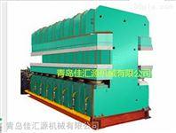 鄂式硫化机,双鄂式双面操作鄂式平板硫化机