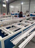 pvc16-75双管扩口机张家港市华德机械pvc16-75一出二pvc双管扩口机管材生产线辅机