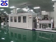 薄片裁切一体PLC控制高速吸塑成型机