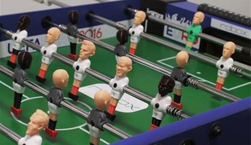 欧洲杯的激情 3D打印桌式足球小人偶